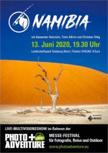 Namibia Mulitvision mit Alexander Heinrichs, Timm Allrich und Christian Ohlig