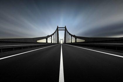 """Platz 4: """"Gesperrte Brücke"""" von Frank Loddenkemper aus Krefeld"""