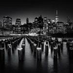 """Platz 19: """"New York bei Nacht"""" von Rolf Dietz aus Wiesbaden"""