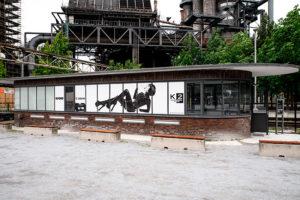 Printservice ind er Gleiswaage, © Jochen Kohl