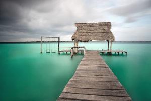 Laguna de los Siete Colores, Mexiko © Sina Falker