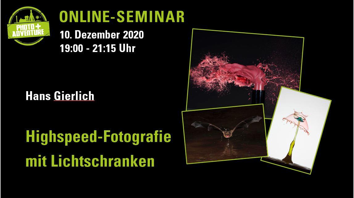 Photo+Adventure Online-Seminar Programm