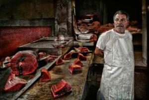 Fischverkäufer, Palermo, Sizilien; © Josef Schwarz